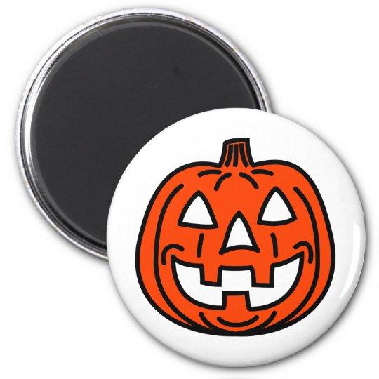Aimant Cool smiling pumpkin