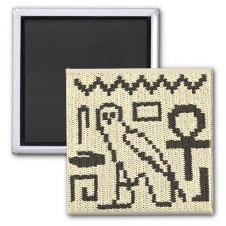 Aimant Copie naturelle de crochet d'hiéroglyphes d'Ankh