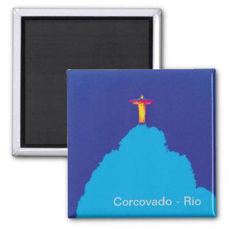 Aimant Corcovado Rio Brésil