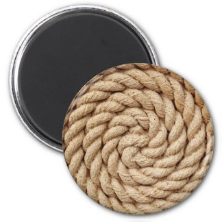 Aimant corde, marque ronde de conception de cercle de
