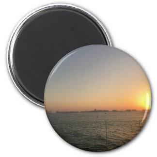 Aimant coucher du soleil