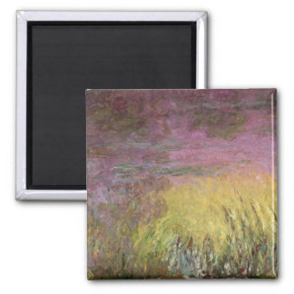Aimant Coucher du soleil de nénuphars de Claude Monet |,