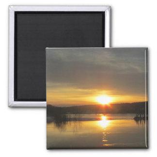 Aimant Coucher du soleil sur le Hudson