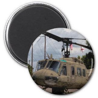 Aimant Couperet vintage de militaires de l'ère Uh-1 Huey