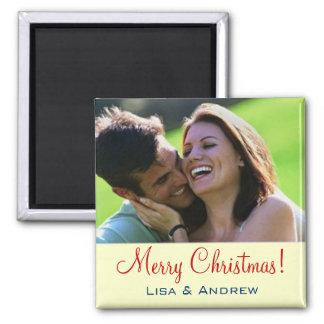 Aimant Couples de Noël d'aimant de ~ d'INSERTION de PHOTO