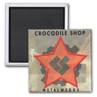 Aimant Couverture CD de Metalwerks de MAGASIN de CROC