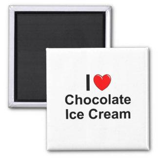 Aimant Crème glacée de chocolat