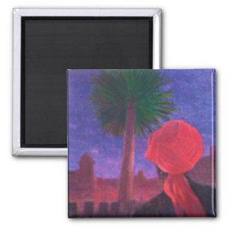 Aimant Crépuscule rouge Jodhpur 2012 de turban