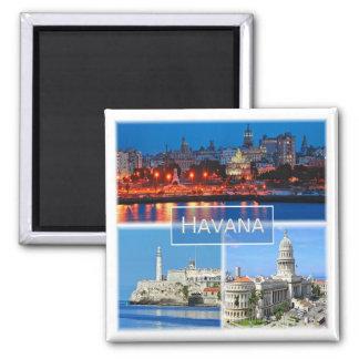 Aimant CU * Cuba - La Havane