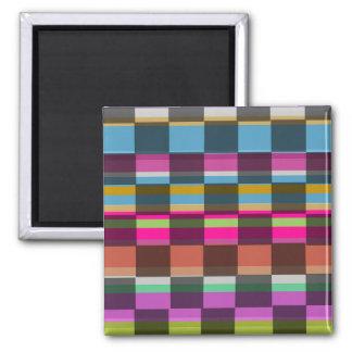 Aimant Cubes colorés