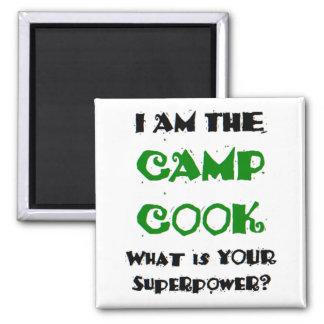 Aimant cuisinier de camp
