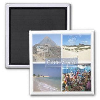 Aimant Cv * Le Cap Vert - mosaïque