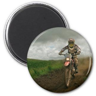 Aimant Cycliste de motocross