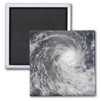 Aimant Cyclone Anja au-dessus de l'Océan Indien du sud
