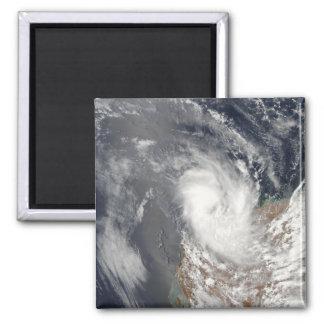 Aimant Cyclone Dominique outre du rivage d'Austra