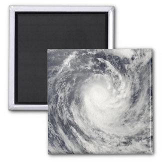 Aimant Cyclone Rene au-dessus de l'océan de South Pacific