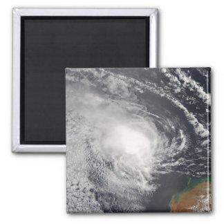 Aimant Cyclone tropical Jacob approchant l'Australie