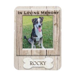 Aimant d'animal familier du mémorial | magnet flexible