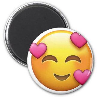 Aimant Dans l'emoji d'amour