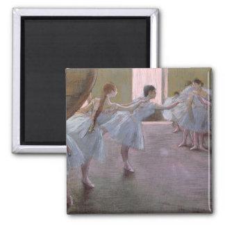 Aimant Danseurs d'Edgar Degas | à la répétition,