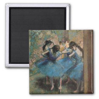 Aimant Danseurs d'Edgar Degas | dans le bleu, 1890