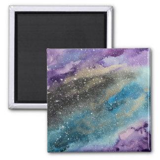 Aimant d'aquarelle d'espace extra-atmosphérique