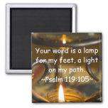 Aimant de 119:105 de psaume