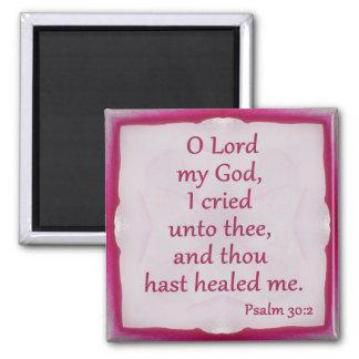 Aimant de 30:2 de psaume