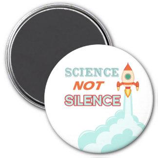 Aimant de bateau de fusée de silence de la Science