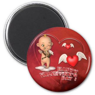 Aimant de bébé de Toon de Saint Valentin
