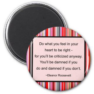 Aimant de citation d'Eleanor Roosevelt