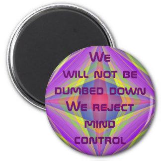 aimant de contrôle d'esprit de rejet