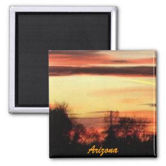 aimant de coucher du soleil de l'Arizona