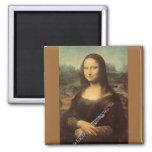 Aimant de da Vinci, de Mona Lisa et de hautbois