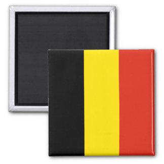 Aimant de drapeau de la Belgique