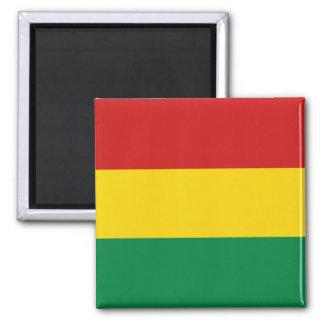 Aimant de drapeau de la Bolivie