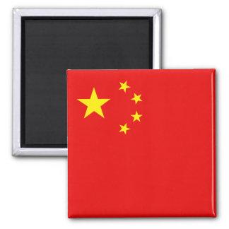 Aimant de drapeau de la Chine