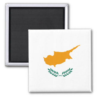 Aimant de drapeau de la Chypre