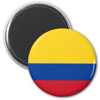 Aimant de drapeau de la Colombie
