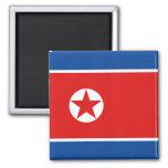 Aimant de drapeau de la Corée du Nord