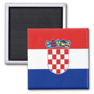 Aimant de drapeau de la Croatie