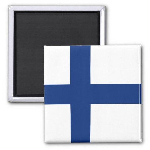 Aimant De Drapeau De La Finlande Zazzle