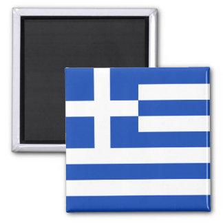 Aimant de drapeau de la Grèce