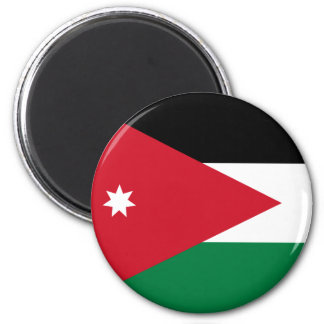 Aimant de drapeau de la Jordanie