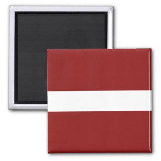 Aimant de drapeau de la Lettonie