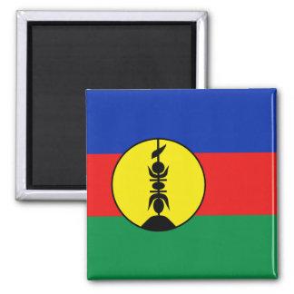 Aimant de drapeau de la Nouvelle-Calédonie