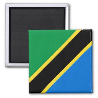 Aimant de drapeau de la Tanzanie