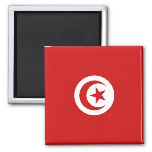 Aimant de drapeau de la Tunisie