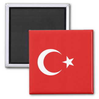 Aimant de drapeau de la Turquie