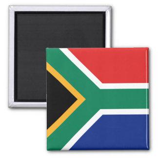 Aimant de drapeau de l'Afrique du Sud